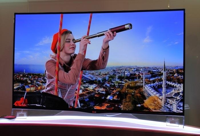 LG Curve OLED TV